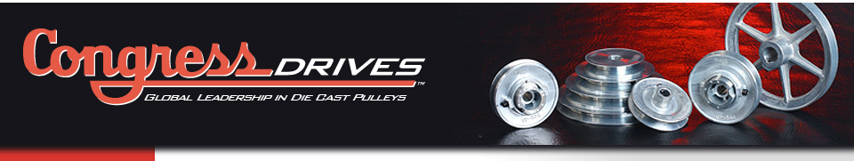 Congress Drives | Global Leadership In die Cast Pulleys