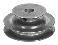 2 Step, Zinc Die Cast Step-Cone Pulley